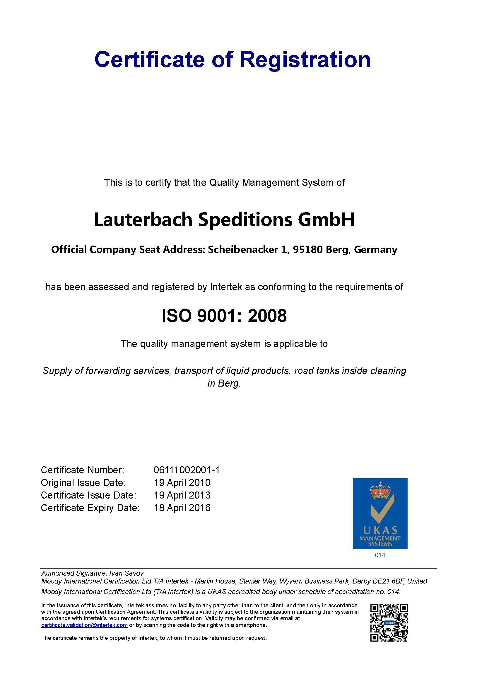 ISO - Lauterbach